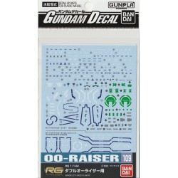 GD-109 RG 1/144 00 Raiser Waterslide Decals