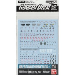 GD-114 for Mobile Suit Gundam Thunderbolt Series 1 Waterslide Decals