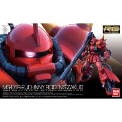 RG Real Grade - No. 026 - 1/144 - MS-06R-2 Johnny Ridden's Zaku II